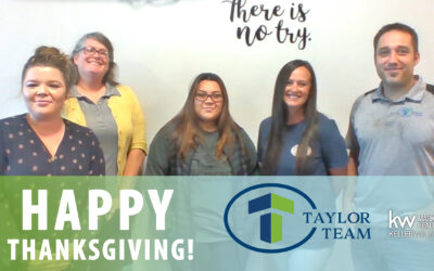Happy Thanksgiving From the Taylor Team