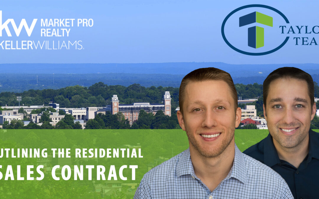 What's Included in the Residential Sales Contract?