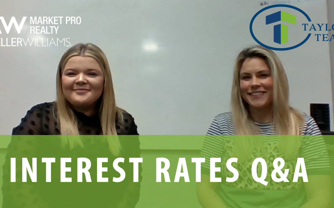 Interest Rates With Alex Allred